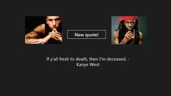 New quote! 