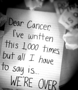 ;Dear Cancer 