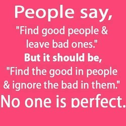 People say,