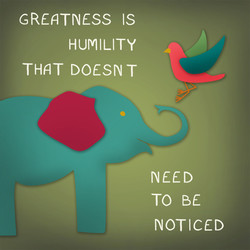 GREATNESS IS 