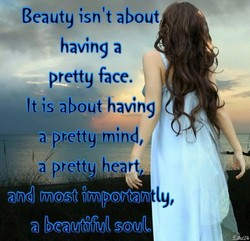 Beauty isn't about 