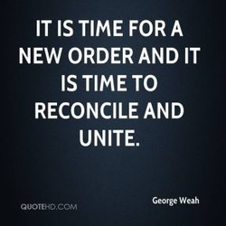 IT IS TIME FOR A 