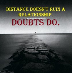DISTANCE DOESN'T RUIN A 
