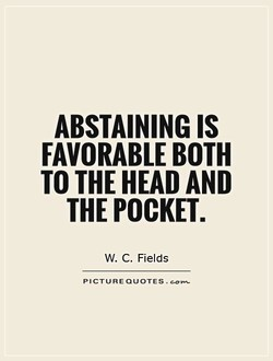 ABSTAINING IS 