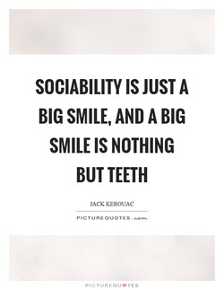 SOCIABILITY IS JUST A 