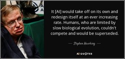 It [A1] would take off on its own and 