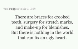 TIIE #259 RULE OF A LADY: 
