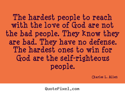 The hardest people to reach 
