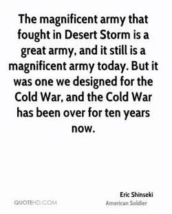 The magnificent army that 