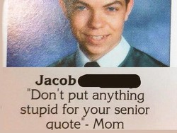 'Don't put anything 