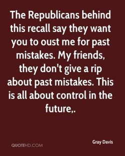 The Republicans behind 