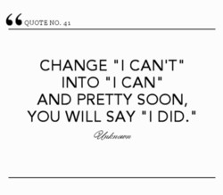 QUOTE NO. 41 