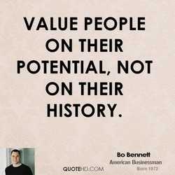 VALUE PEOPLE 