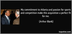 My commitment to Atlanta and passion for sports 