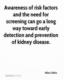 Awareness of risk factors 