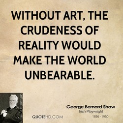 WITHOUT ART, THE 