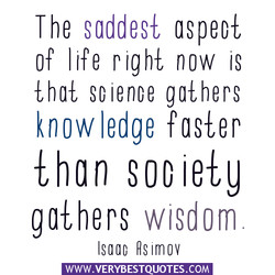 The saddest ospeol 