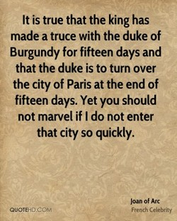 It is true that the king has 