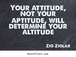 YOUR ATTITUDE, 