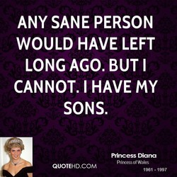 ANY SANE PERSON 