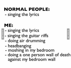 NORMAL PEOPLE: 
