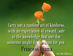 Cany Oilt a rando act of kindness, 