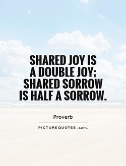 SHARED JOY IS 