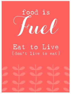 food is 