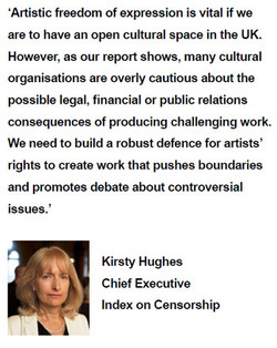 'Artistic freedom of expression is vital if we 