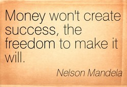 Money wonlt create 