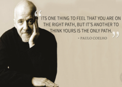 ITS ONE THING TO FEEL THAT YOU ARE ON 