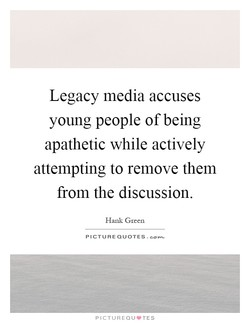 Legacy media accuses 