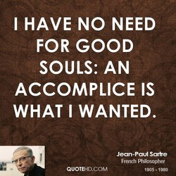 I HAVE NO NEED 