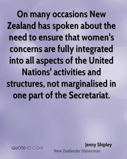 On many occasions New 