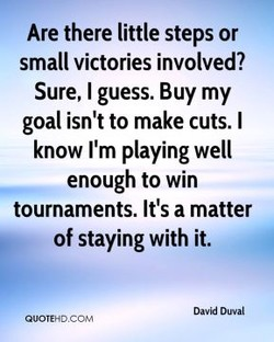 Are there little steps or 