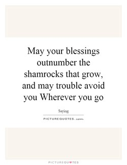 May your blessings 
