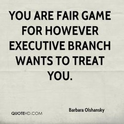 YOU ARE FAIR GAME 