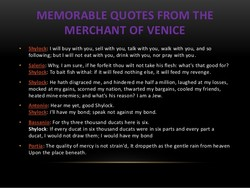 MEMORABLE QUOTES FROM THE 