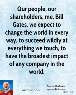 Our people, our 
