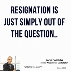 RESIGNATION IS 