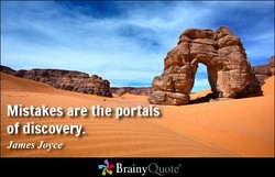 Mistakes are theoortaIS'