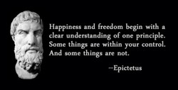 Happiness and freedom begin with a 