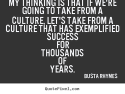 GOING TO TAKE FROM A 
