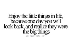 Elljoy die little things in life, 