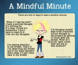 A Mindful Minute 