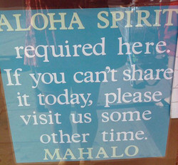 ALOHA SPIRIT 