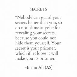 SECRETS 