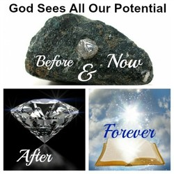 God Sees All Our Potential