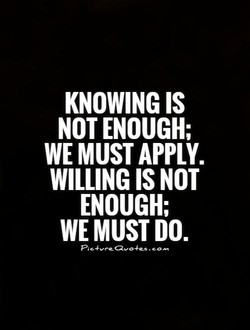 KNOWING IS 