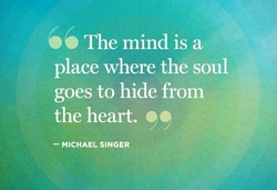 The mind is a 